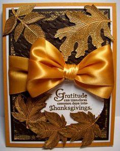 Stampin' Up! FM31 Gratitude