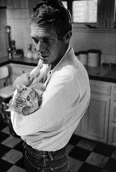 Do You Have A Cat? Steve McQueen, 1963.
