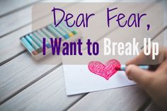 Have you ever been broken up with? Many of us have I'm sure. Do you remember one of the first times someone broke up with you? I do. I was standing at the pencil sharpener when the small folded paper...