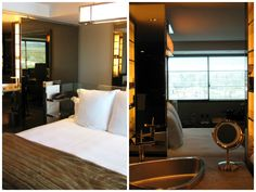 DayTreasure: SLS Hotel - Beverly Hills Beverly Hills, Oversized Mirror, Divider, Room, Furniture, Home Decor, Travel, Bedroom, Decoration Home