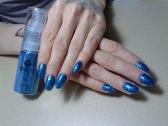 Magnetic Glitter spray Sky blue Magnets, Nail Art, Sky, Nails, Blue, Heaven, Finger Nails, Ongles, Nail Arts