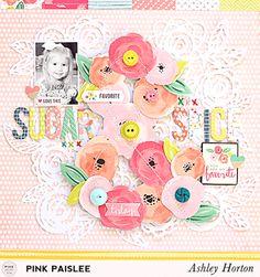 Ashley Horton Designs: Pink Paislee | Sugar & Spice