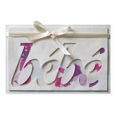 Carte à secouer Félicitations Naissance Fille, Collection Lovely Scrap, Lovely Carte