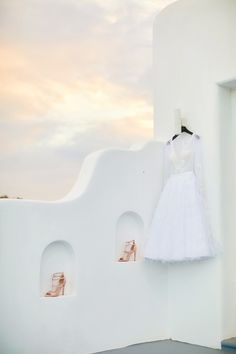You Must See This Bride-to-Be's Little White Dress | Photography: Sotiris Tsakanikas