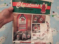 DAISY KINGDOM CHRISTMAS BANNER NIP Chritmas crafts