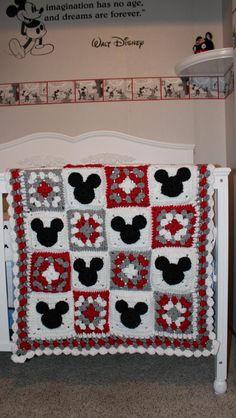 Mickey afghan -