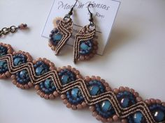 Micro-Macrame Jewelry by BeautifulJules