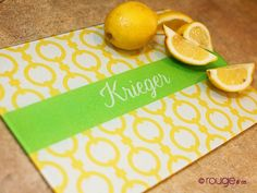 design-your-own glass cutting board {classic patterns}