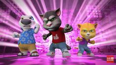 Talking Tom and friends vs Zappers