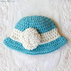 Crochet Patterns Galore - Vintage Baby Cloche Hat