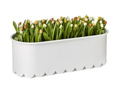Powder coated steel planter DAISY by Nola Industrier design Mia Gammelgaard