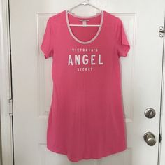 Victoria's Secret nighty gown New without tags. Never been worn. Size L, but could fit a size M too. Victoria's Secret Intimates & Sleepwear
