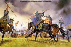 Military Art, Military History, Osprey Military, Ancient History, Art History, Norman Knight, Armadura Medieval, Landsknecht, Historical Art