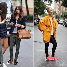 look con scarpe da running. Olivia's look <3 <3
