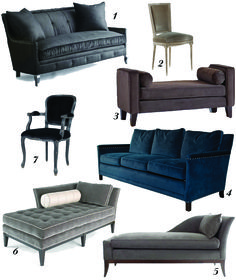 Furniture at Chatz Velvet Furniture, Sofa Furniture, Velvet Couch, Interior Design Boards, Dream Rooms, Dream Decor, Furniture Inspiration, Upholstered Chairs, Home Projects