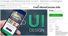 [100% Off #Udemy Course] #UI #Design and #Photoshop from Scratch - Become a UI Designer   Course Description  Last UPDATED on 16thApril 2016---------------------------------------------------------------------  2 New Lectures added in Image Editing section  Upcoming Lectures---------------------------------------------------------------------------------------------------------------------  Material Styled Mobile App Screen Design Exercise(Coming Soon)…
