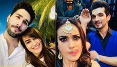 (2) New Message! Twinkle Khanna, Twinkle Twinkle, Milind Soman, Monsoon Rain, Qubool Hai, Fringe Hairstyles, Garland Wedding, Water Plants, Bollywood News