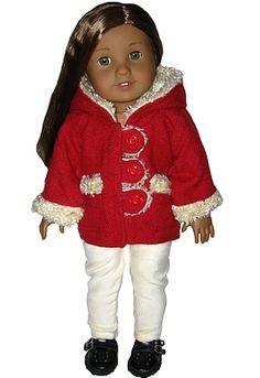 "sillymonkey.com.  Trendy 18"" AG doll clothes.  Coats, Jackets, Outwear for American Girl Dolls"