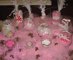 First Communion candy buffet