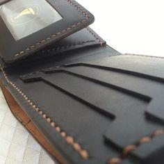 New design.  jmichaelashland.com. #leather #jmichaelashland #bespoke #handmade #leatherwallet #menstyle Full Grain Leather Wallet, Holiday Gifts For Men, Leather Wallets, Coin Purses, Leather Working, Leather Craft, Fathers Day Gifts, Bespoke, Birthday Gifts