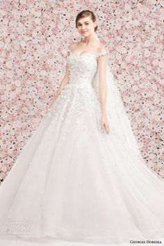 Princess Wedding Dresses : Couture Georges Hobeika Wedding Dresses Spring 2014 Collection. To see more: www