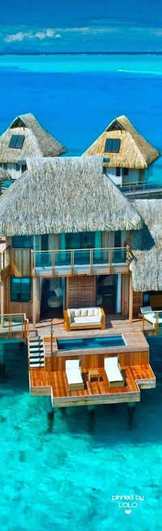Sea Villas Bora Bora | LOLO❤ -