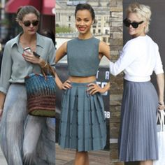 Una de las tendencias de la primavera que viene pisando más fuerte es la de las faldas plisadas, sobre todo en su versión 'midi'. ¿Quieres saber qué famosas ya han sucumbido a sus encantos?