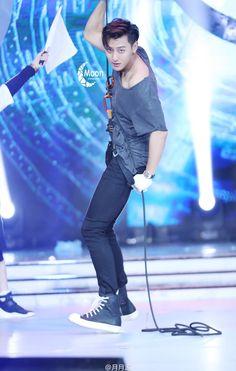 Huang Zi Tao, Like Crazy, Pop Idol, Kpop Groups, Love Him, Sporty, Actors, Lima, Panda
