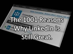 Blue Dog Scientific's Guide to LinkedIn.: 1001 Good Things About LinkedIn.   There are still lots of great reasons to stick with LinkedIn - it's the people you can meet and make lasting connections with, of course!   http://bluedogscientific.blogspot.com/2015/03/1001-good-things-about-linkedin.html?spref=pi   #linkedin #b2b #b2c #networks #bluedogci
