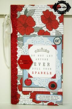 TERESA COLLINS DESIGN TEAM: Stationery Noted Mini Album by Yvonne Blair