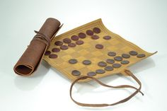 Handmade Roll-up Leather Chess Set $32.85