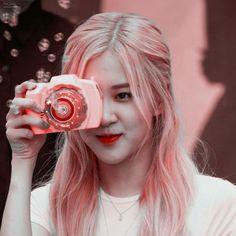 Aesthetic Roses, Kpop Aesthetic, Aesthetic Girl, Rose Tumblr, Black Pink Kpop, Rose Icon, Rose Park, Blackpink Photos, Rose Wallpaper