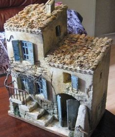 1 million+ Stunning Free Images to Use Anywhere Clay Houses, Ceramic Houses, Christmas Countdown, Christmas Crafts, Christmas Decorations, Christmas Nativity Scene, Christmas Villages, Miniature Crafts, Miniature Houses