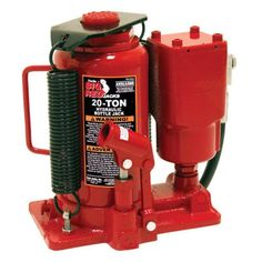 Torin 20 Ton Air Hydraulic Bottle Jack - TA92006