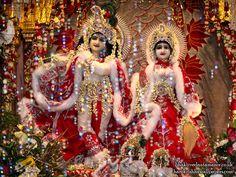 Sri Sri Radha Gokulananda Wallpaper {Bhaktivedanta Manor}