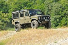 My favorite stuff. Land Rover Defender 110 Td5 Corsetti Engineering equipped
