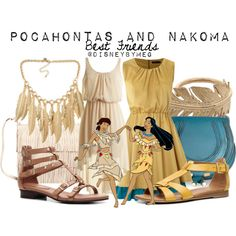 """""""Pocahontas and Nakoma"""" by merstrawberries on Polyvore"""