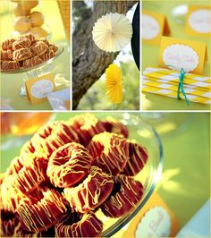Lemon Themed Party Ideas   ... lemon candy to an assortment of lemon desserts to satisfy every sweet