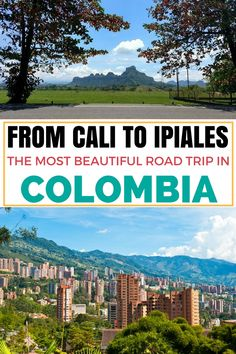 A road trip from Cali to Ipiales is always on my Colombia's travel bucket list. This 12-hour road trip takes you to the country side of the Colombia, where beautiful nature and traditional culture thrives. It also takes you to Ipiales, where you can see the most beautiful Church Las Lajas Sanctuary. Click on this pin to read more about this trip, the bus travel tips and why it is one of the unmissable things to do in Colombia.