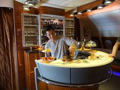 If you're looking to fly in style, it doesn't get much better than a first-class suite aboard the iconic Emirates airline.  WOW!!!!