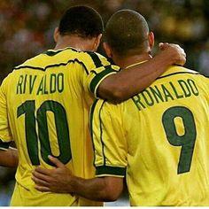 . . . Great... . . . #ronaldonazario #ronaldo #elfenomeno #martian #onlyoneronaldo #r9 #rivaldo #brasil #brazil