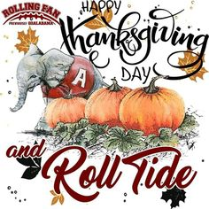 An Alabama Crimson Tide Thanksgiving!!!