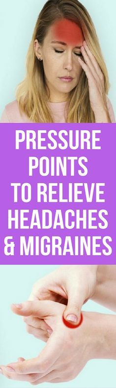 These are some of the best pressure points for headache relief. You should try them