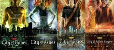 After Harry Potter & Twilight, I needed a new teen saga to obsess over.... The Mortal Instruments, by Cassandra Claire... PS. the movies are being made soon, but I recommend the books of course :)