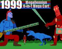"""""""1999: Megallennium 6-in-1 Mega Cart"""": Videojuego homenaje a los cartuchos multijuego - https://www.vexsoluciones.com/noticias/1999-megallennium-6-in-1-mega-cart-videojuego-homenaje-a-los-cartuchos-multijuego/"""