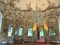 Hall of mirrors at Amalienburg palace via architect design™