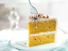 Pumpkin Spice Cake, the Perfect Holiday Dessert (Sorry, Pie)