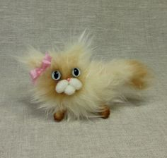 Rosabelle the Scowly Cat by violetpi on Etsy