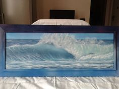ARTFINDER: Panoramic #002 by Gianluca Cremonesi - A thrilling and dramatic scene of stormy seascape... and yet I felt safe and serene while painting this lovely seascape, I hope you can feel the same emotion...