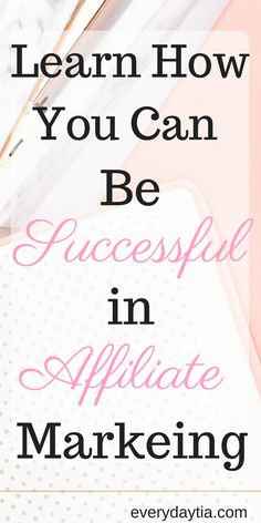 Affiliate marketing is a great way for beginners, bloggers and  entrepreneurs to learn how to make money online, but there are right ways and wrong ways of affiliate marketing. Learn how you can be successful in affiliate marketing